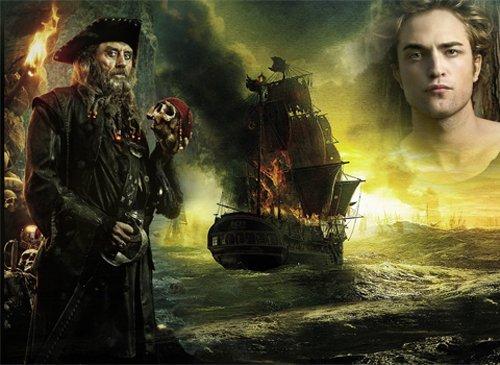 Рамка мужская  '' Бухта пиратов''