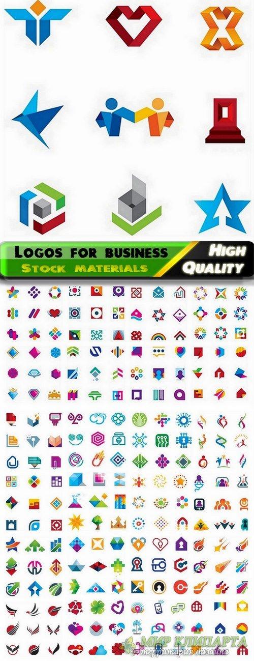 Logo Design in vector Set from stock #55 -  25 Eps