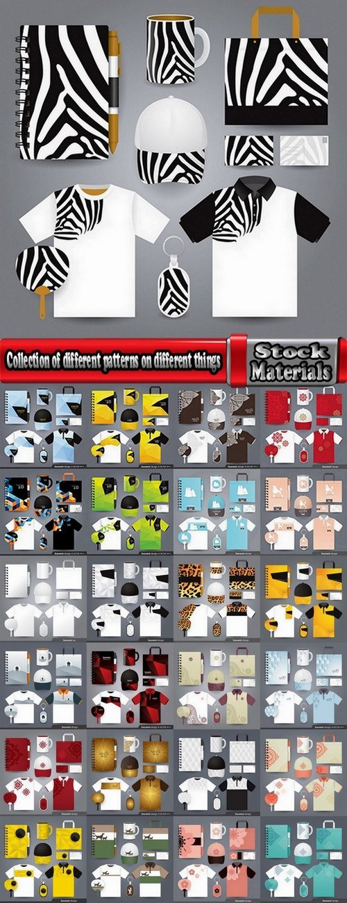 Collection of different patterns on different things 25 Eps