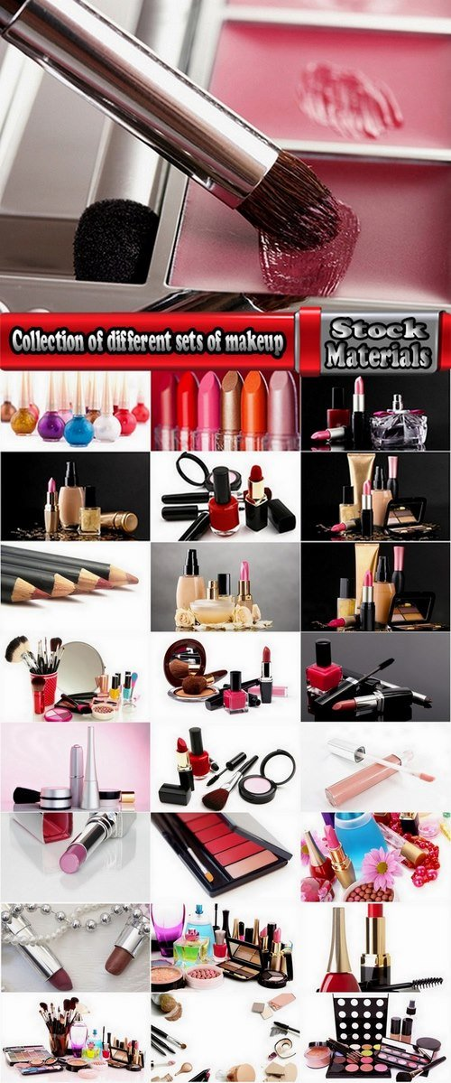 Collection of different sets of makeup 25 HQ Jpeg