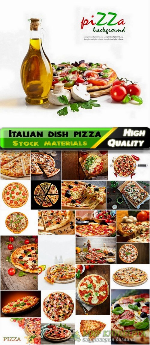 National Italian dish pizza Stock images - 25 HQ Jpg