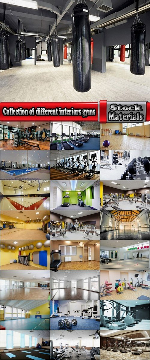 Collection of different interiors gyms 25 HQ Jpeg