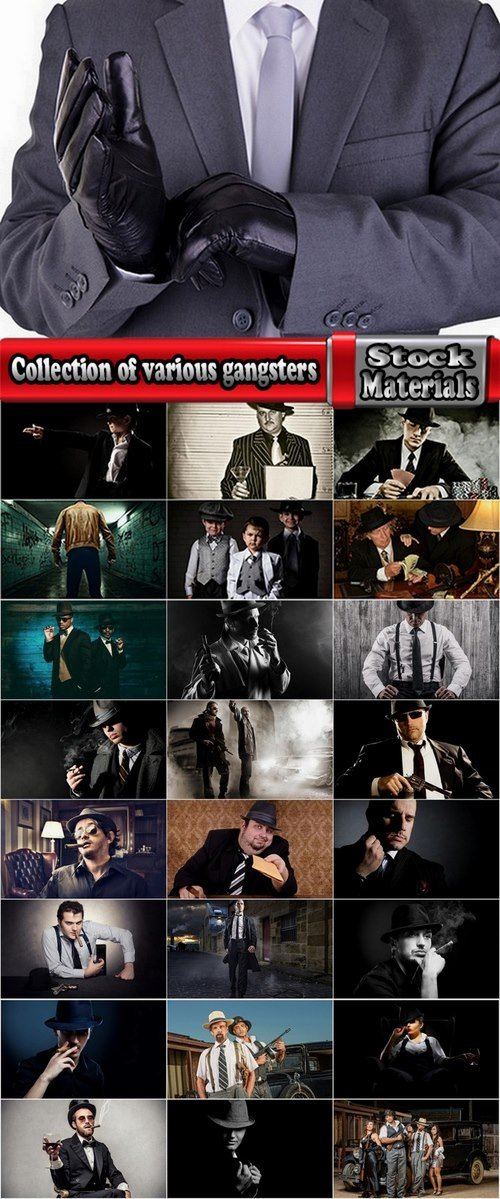 Collection of various gangsters 25 HQ Jpeg