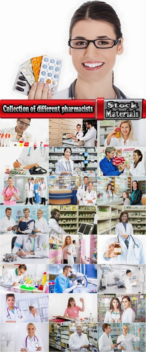 Collection of different pharmacists 25 HQ Jpeg
