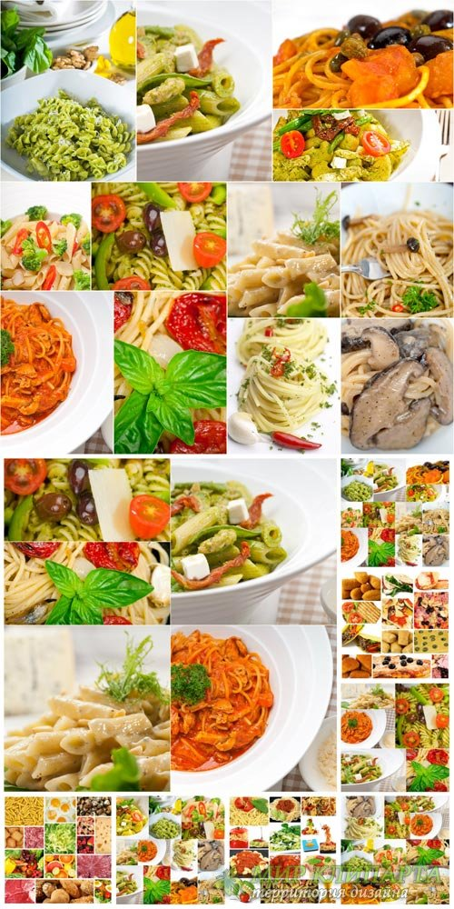 Food collage food - Stock Photo