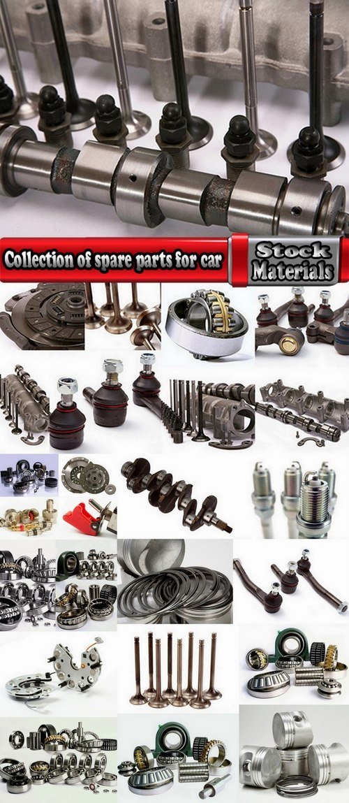 Collection of spare parts for car 25 HQ Jpeg