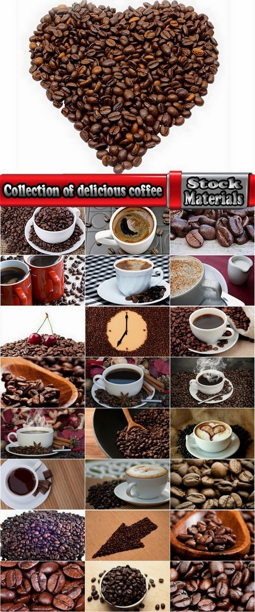 Collection of delicious coffee 25 HQ Jpeg