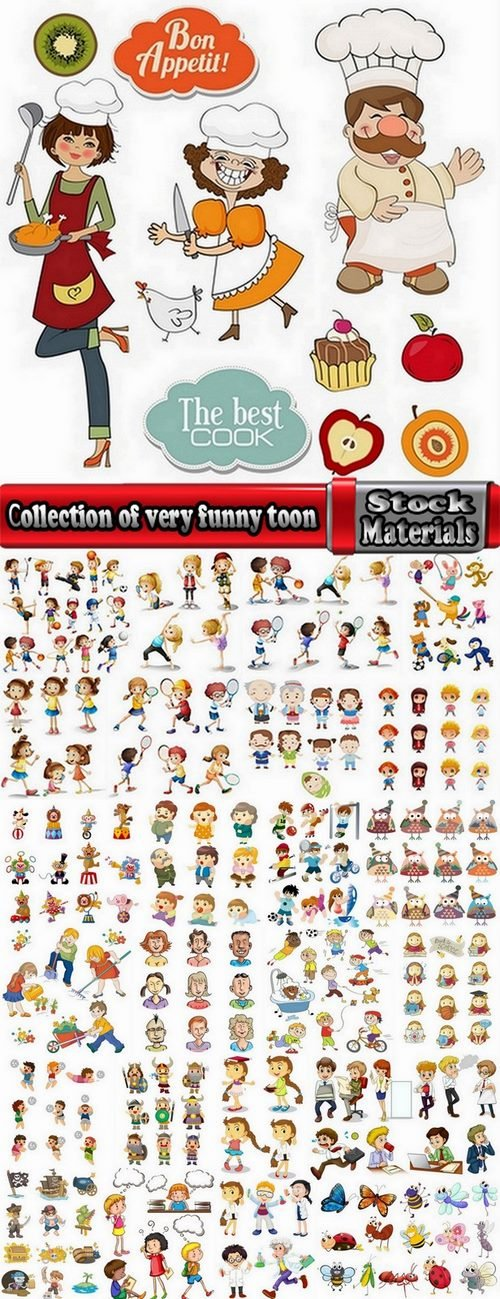 Сollection of very funny toon #3-25 Eps