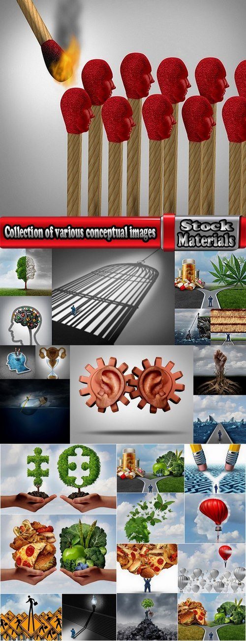 Collection of various conceptual images 25 HQ Jpeg