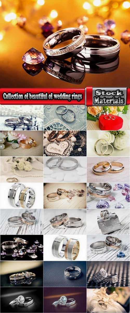 Collection of beautiful of wedding rings 25 HQ Jpeg