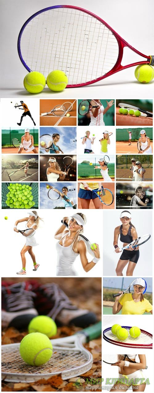 Tennis, girls tennis - stock photos