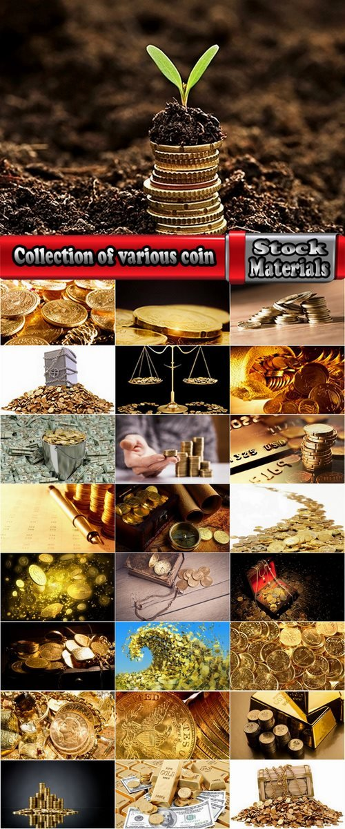 Collection of various coin 25 HQ Jpeg