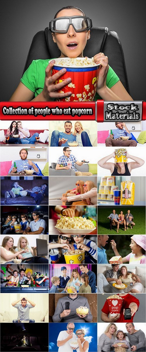 Collection of people who eat popcorn 25 HQ Jpeg
